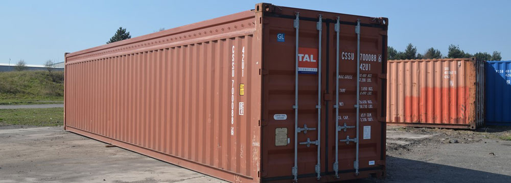 40 Foot Used Open Top Containers for Sale